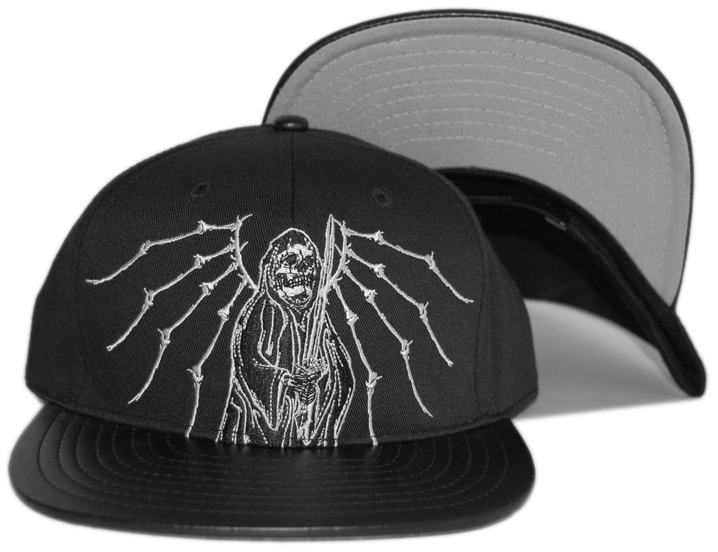 <!--020120724047515-->Flying Coffin - 'Time's Up' [(Black) Snap Back Hat]