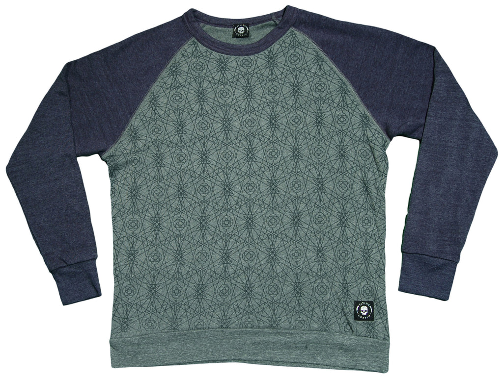 <!--2012112016-->Flying Coffin - 'Abraxas Raglan' [(Light Blue) Crewneck Sweatshirt]