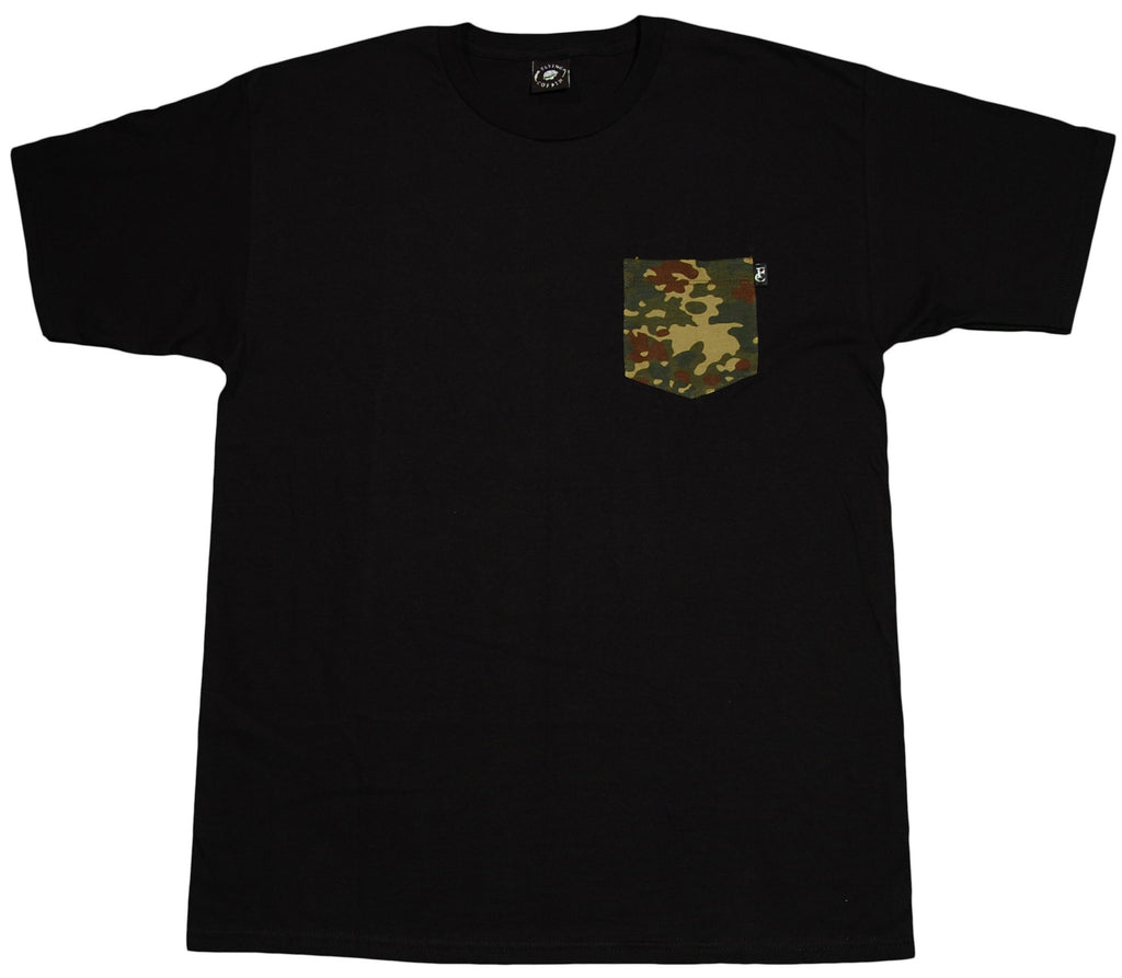 <!--2012112049-->Flying Coffin - 'Camo' [(Black) T-Shirt]