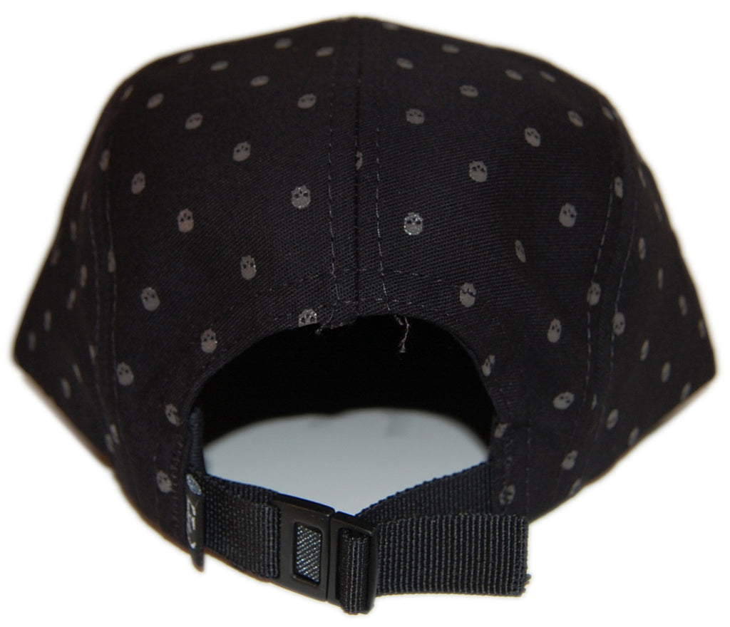 <!--020121120051687-->Flying Coffin - 'Skull Pattern' [(Black) Five Panel Camper Hat]