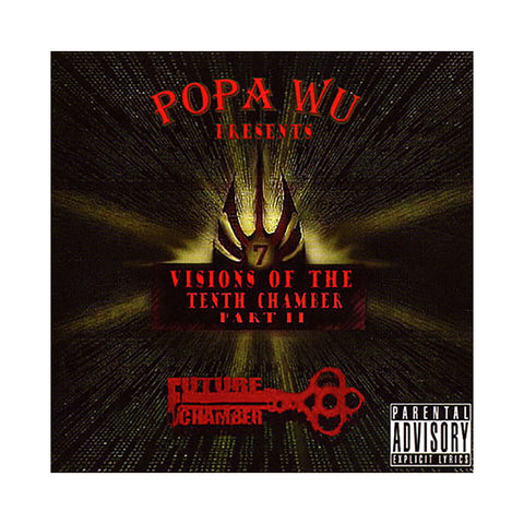 Popa Wu - 'Visions Of The 10th Chamber Pt. II' [CD]