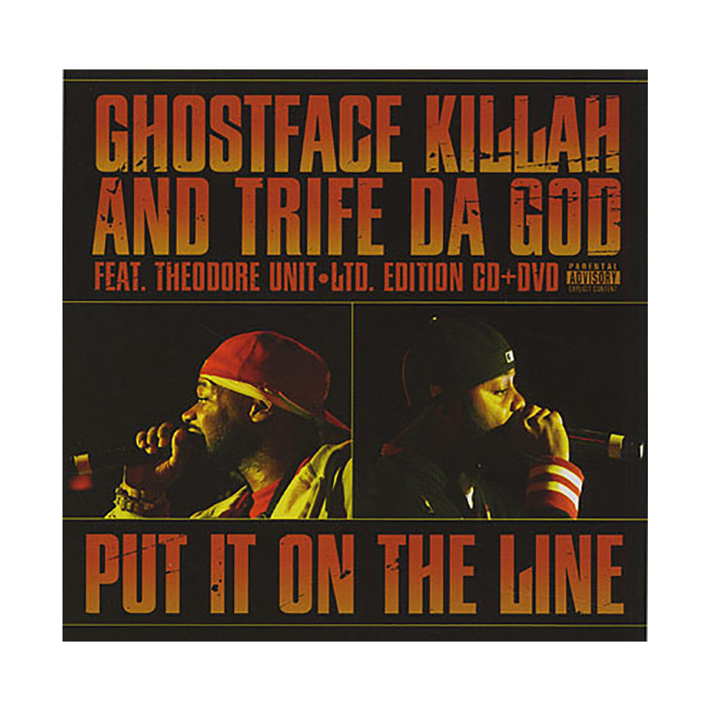Ghostface Killah & Trife Da God w/ Theodore Unit - 'Put It On The Line' [CD]