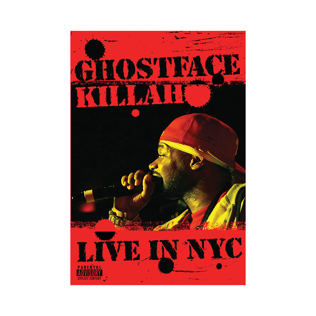 <!--2006062051-->Ghostface Killah - 'Live In NYC' [DVD]