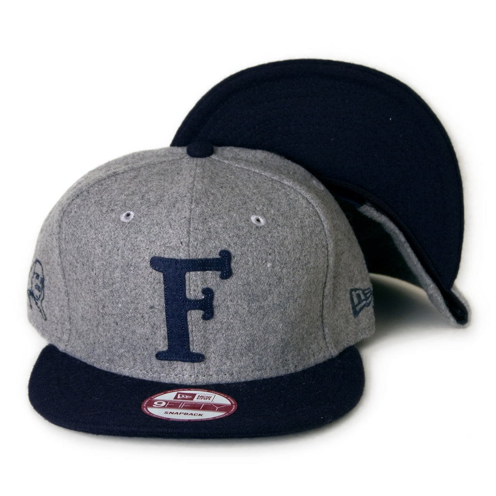 <!--020131206061574-->Frank's Chop Shop - 'Applique F' [(Gray) Snap Back Hat]
