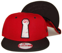 <!--020130618057616-->Frank's Chop Shop - 'Keyhole' [(Red) Snap Back Hat]
