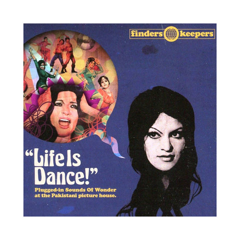 "[""Various Artists - 'Life Is Dance!: Plugged-In Sounds Of Wonder At The Pakistani Picture House' [(Black) Vinyl [2LP]]""]"