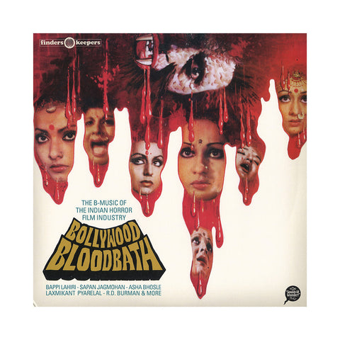 "[""Various Artists (Compiled By: Andy Votel) - 'Bollywood Bloodbath: The B-Music Of The Indian Horror Film Industry' [(Black) Vinyl [2LP]]""]"