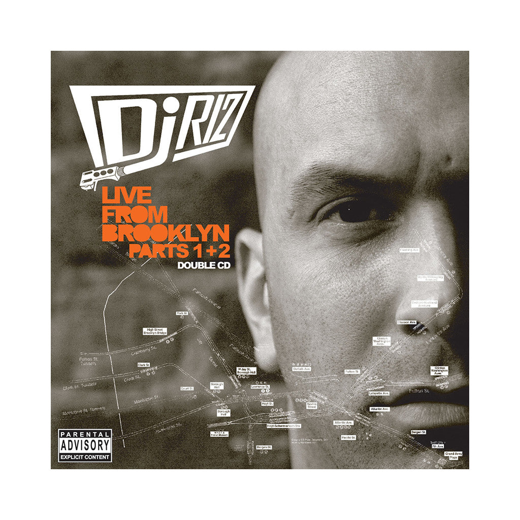 <!--020060926007949-->DJ Riz - 'Live From Brooklyn Pts. 1 & 2' [CD [2CD]]