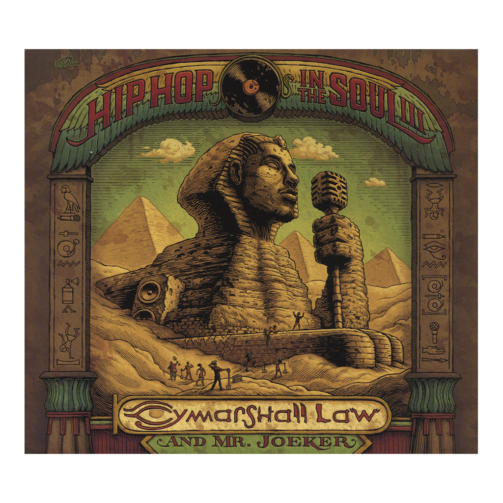 <!--2016061055-->Cymarshall Law & Mr. Joeker - 'Planet Black Law' [Streaming Audio]