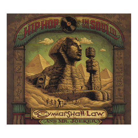 Cymarshall Law & Mr. Joeker - 'Planet Black Law' [Streaming Audio]