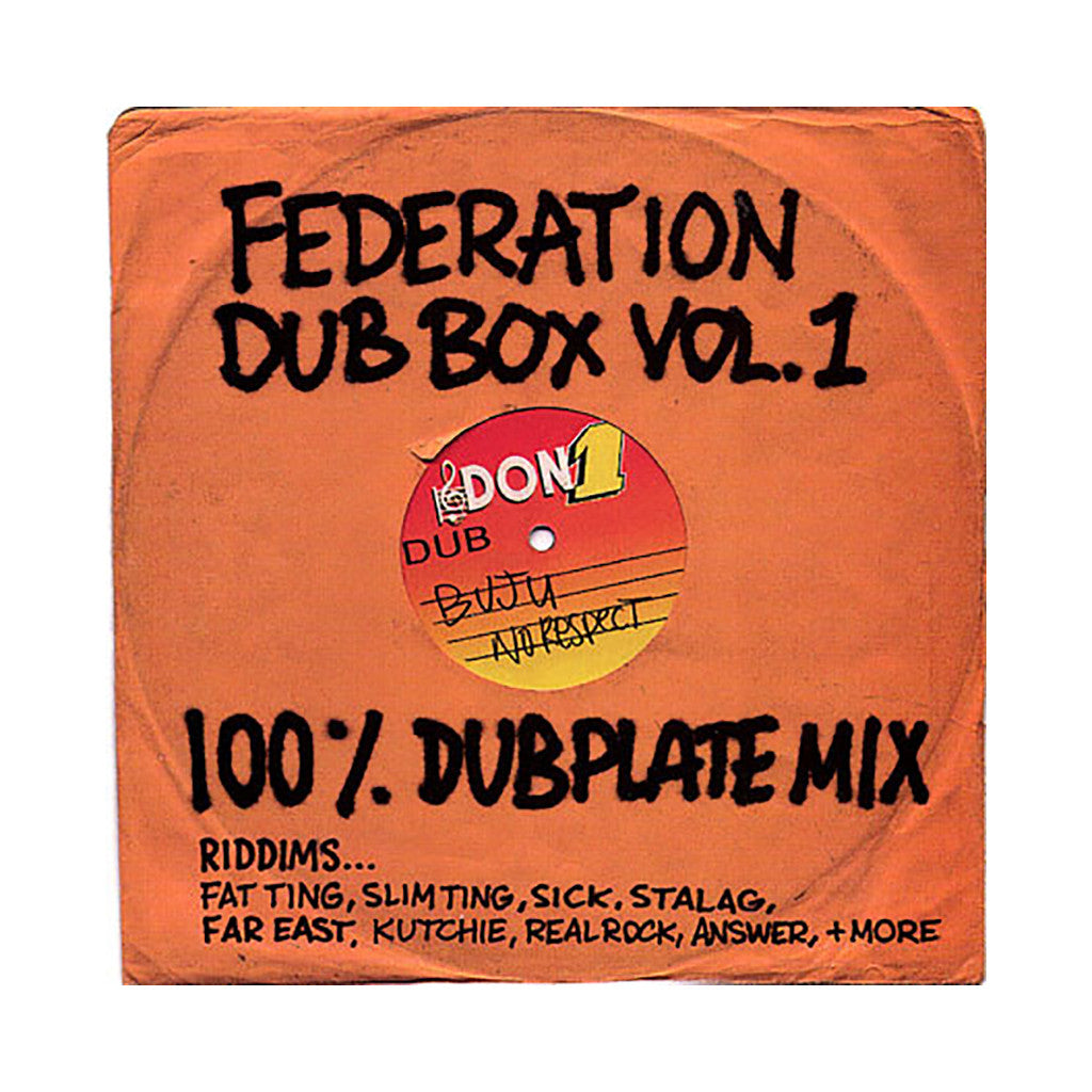 Federation Sound - 'Dub Box Vol. 1' [CD]