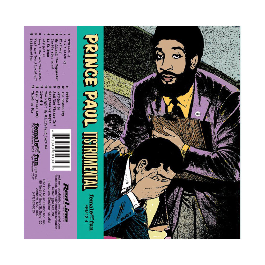 Prince Paul - 'Itstrumental' [Cassette Tape]