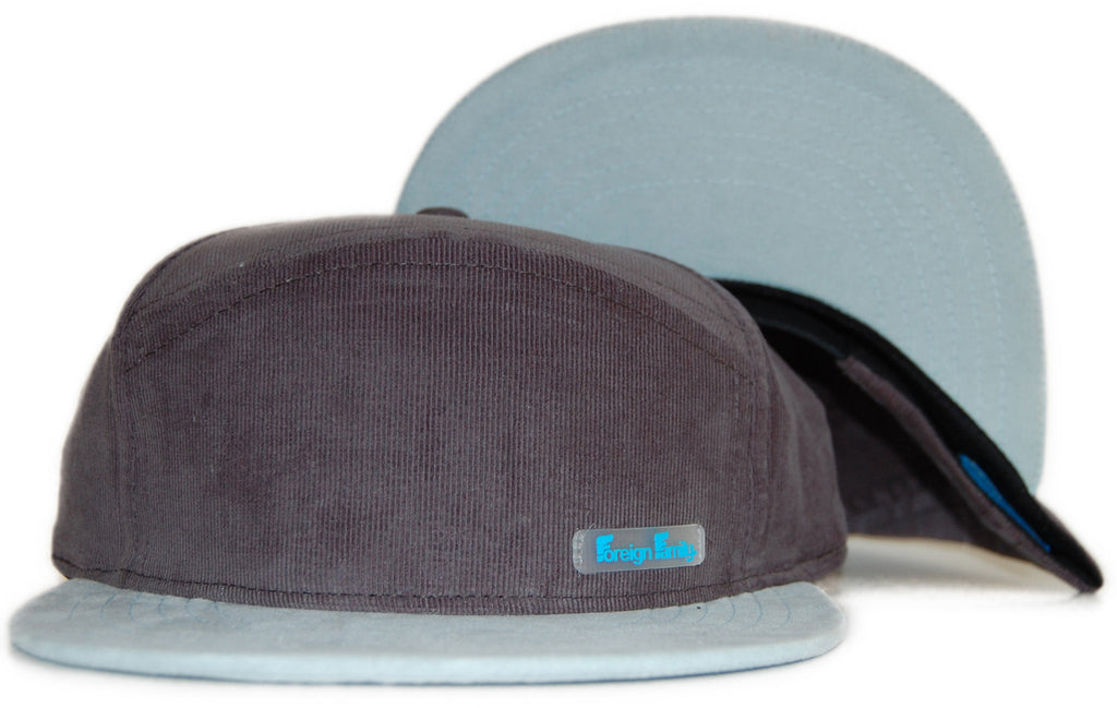 <!--020111101037828-->Foreign Family - '6 Panel Hybrid' [(Dark Gray) Strap Back Hat]