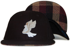 <!--2012011042-->Foreign Family - 'Dove' [(Black) Snap Back Hat]