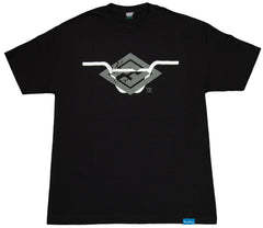 <!--2012011058-->Foreign Family - 'Handle Bars' [(Black) T-Shirt]