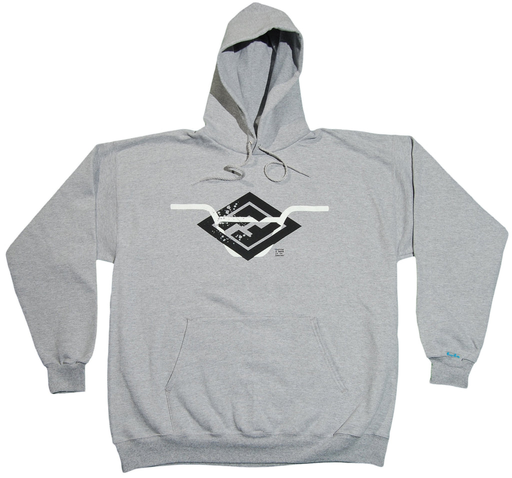 <!--2012011053-->Foreign Family - 'Handle Bars' [(Gray) Hooded Sweatshirt]