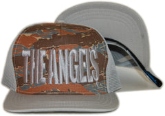 <!--020120501044082-->Foreign Family - 'The Angels - Gray/ Brown' [(Camo Pattern) Snap Back Hat]