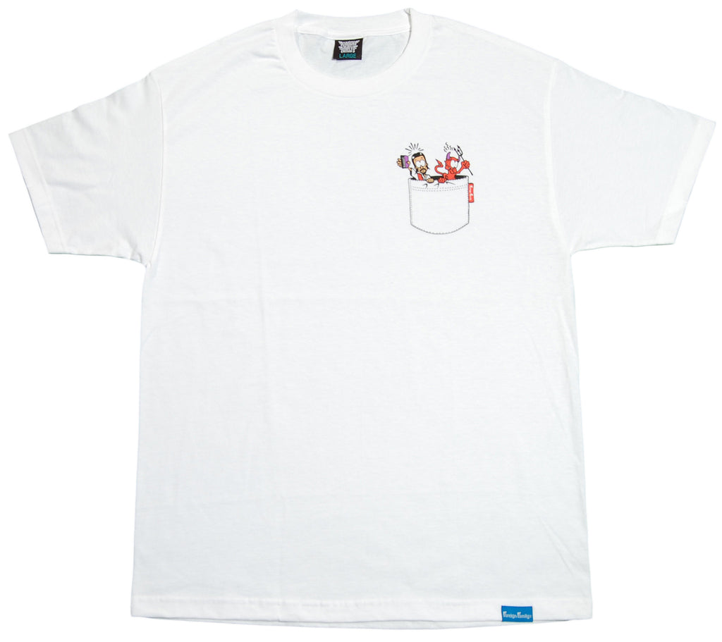 <!--2012050144-->Foreign Family - 'The Choice Is Yours' [(White) T-Shirt]