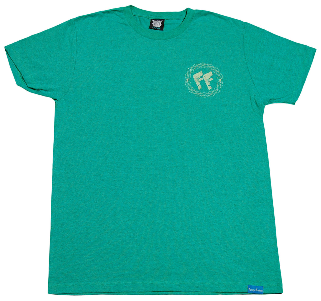 <!--2012050133-->Foreign Family - 'FF Basic' [(Light Green) T-Shirt]