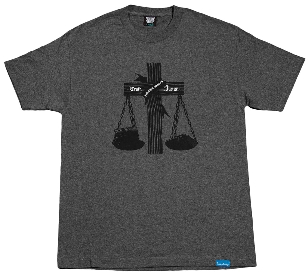 <!--2012050139-->Foreign Family - 'Truth And Justice' [(Dark Gray) T-Shirt]