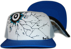 <!--020110830034692-->Foreign Family - 'Crack' [(White) Snap Back Hat]