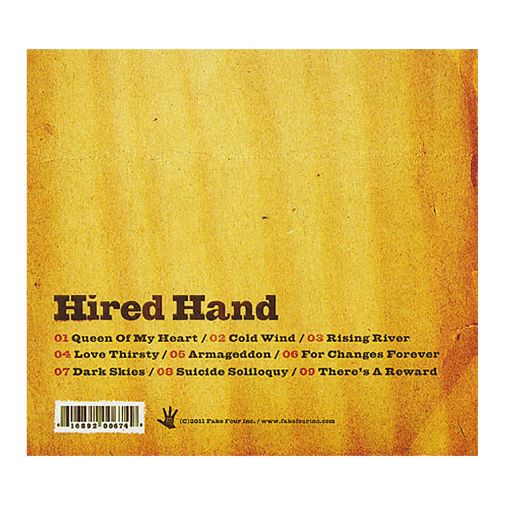 <!--120111025036195-->Hired Hand - 'Hired Hand' [CD]