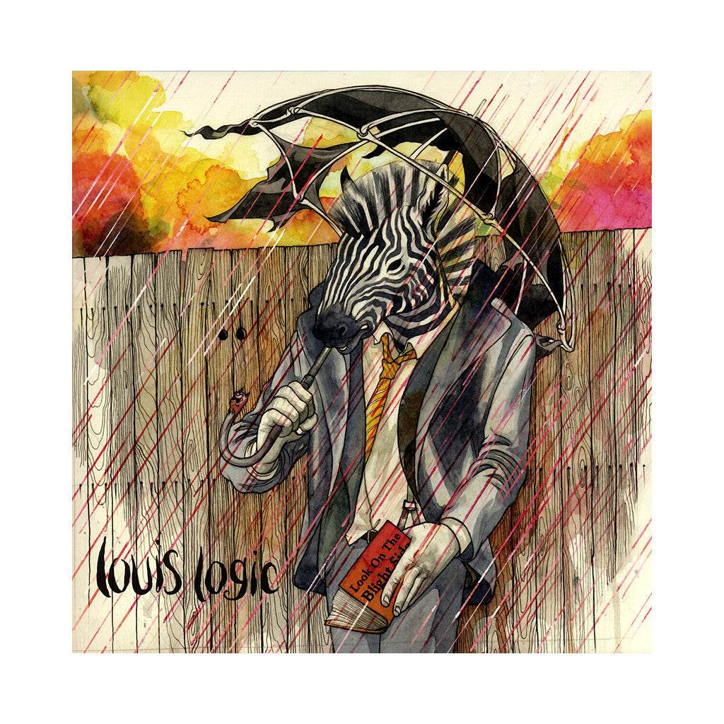<!--120140114061152-->Louis Logic - 'Look On The Blight Side' [(Light Yellow) Vinyl LP]