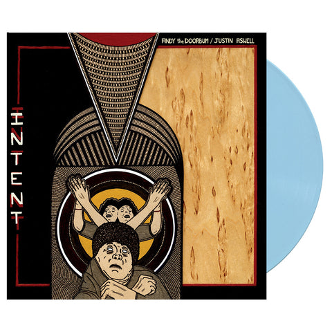 Andy The Doorbum & Justin Aswell - 'Intent' [(Baby Blue) Vinyl LP]