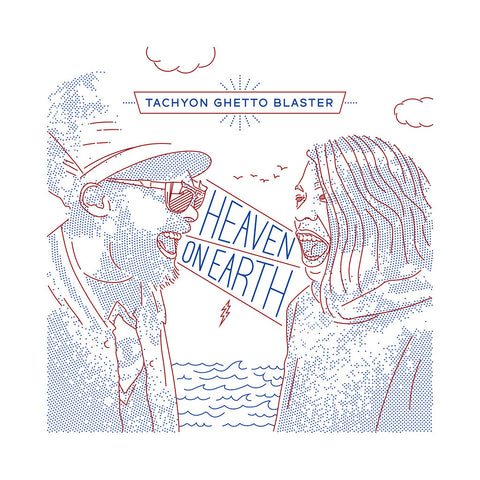 Tachyon Ghetto Blaster - 'Heaven On Earth' [CD]