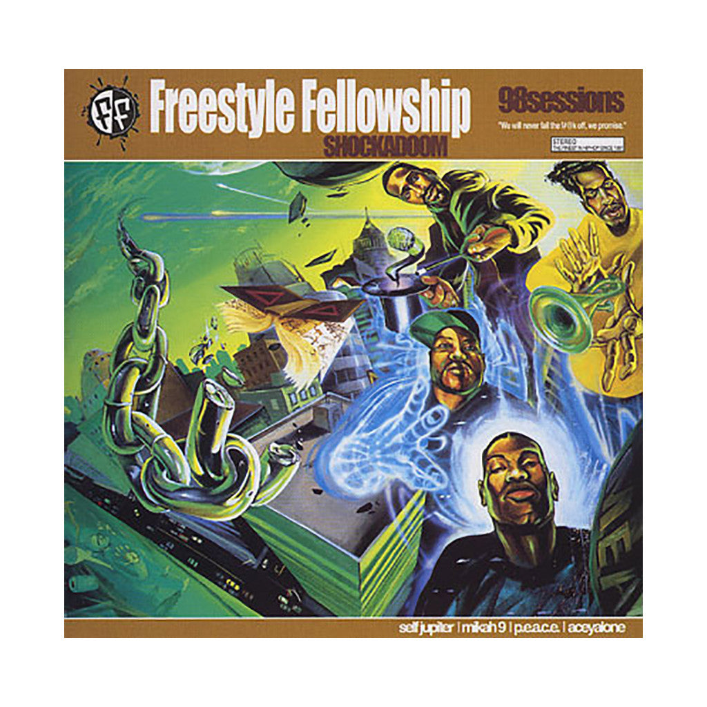 <!--020030422012200-->Freestyle Fellowship - 'Shockadoom' [CD]