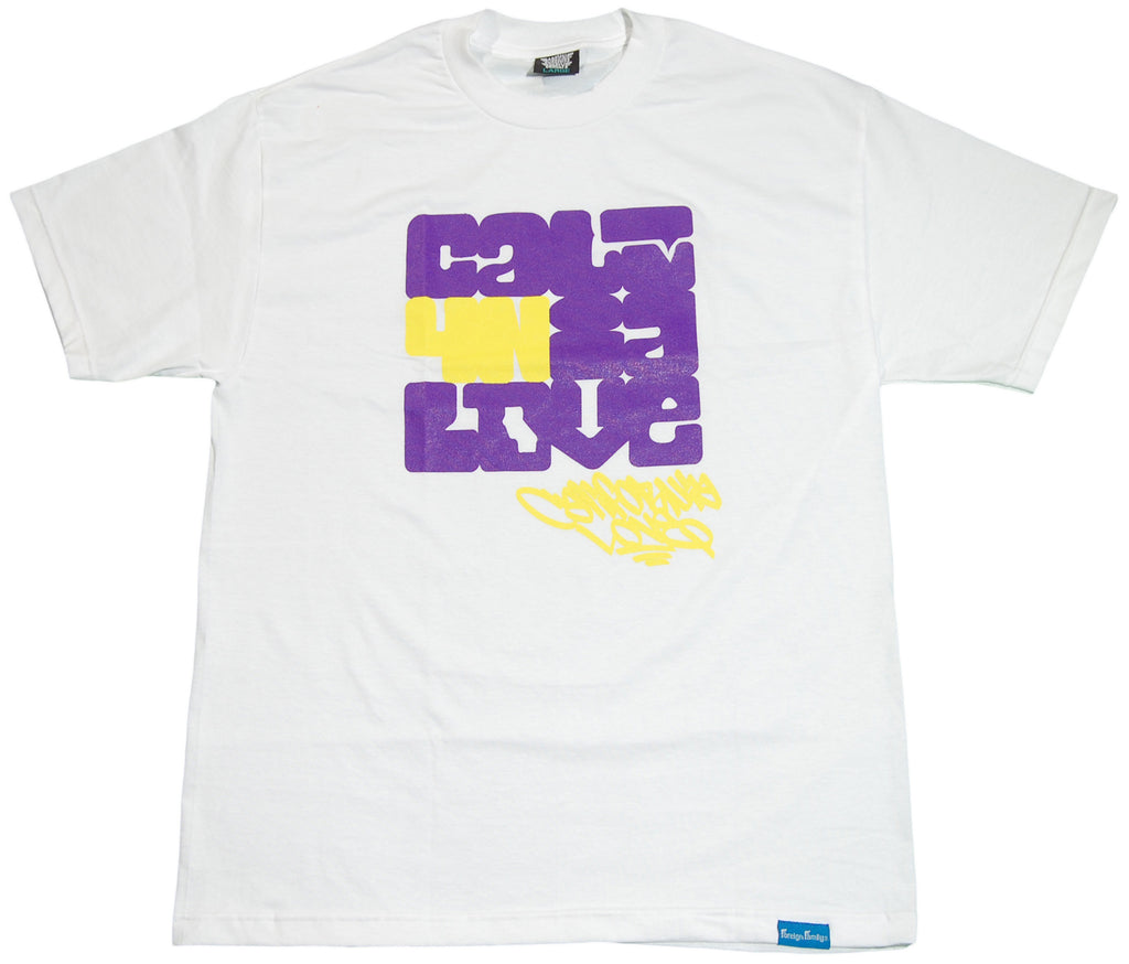 <!--2011050318-->Foreign Family - 'Cali4nia Love' [(White) T-Shirt]