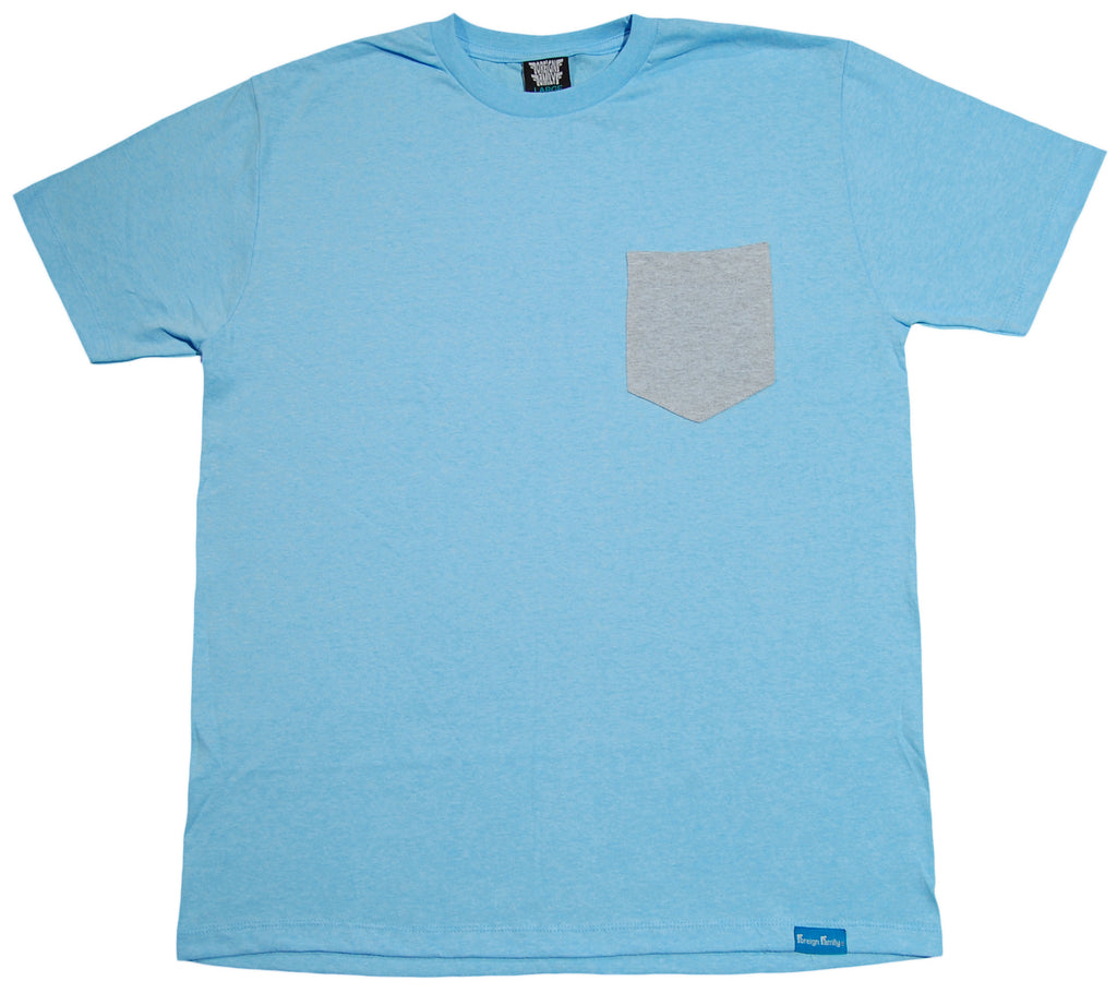 <!--2013073007-->Foreign Family - 'Sky' [(Light Blue) T-Shirt]