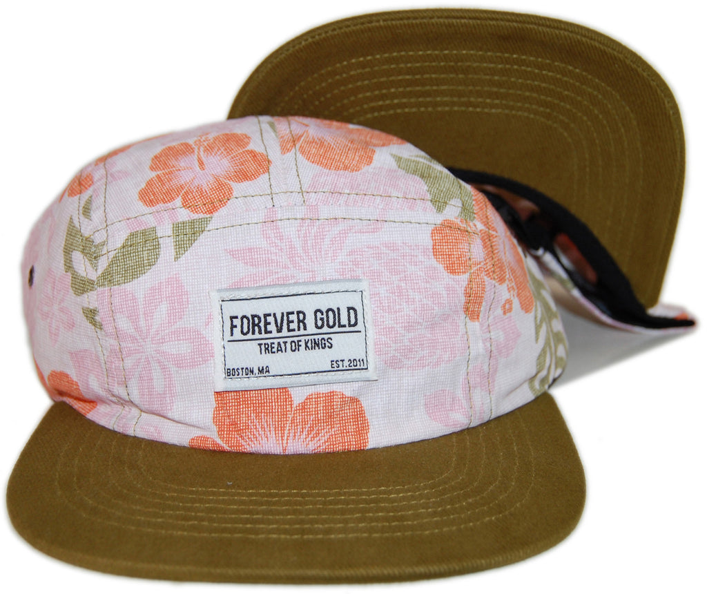<!--020130820058941-->Forever Gold Clothing - 'Ananas' [(Multi-Color) Five Panel Camper Hat]