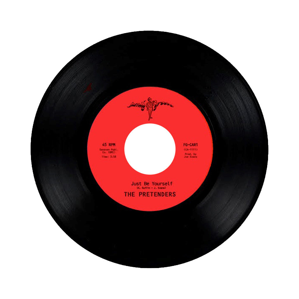 "The Pretenders - 'Just Be Yourself/ It's Everything About You (That I Love)' [(Black) 7"" Vinyl Single]"