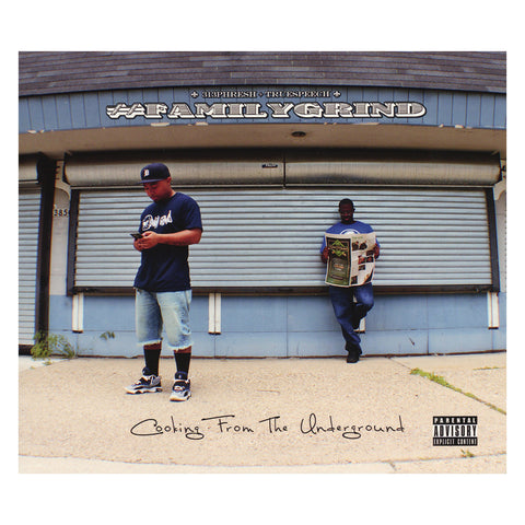 "[""#FAMILYGRIND - 'Cooking From The Underground' [CD]""]"