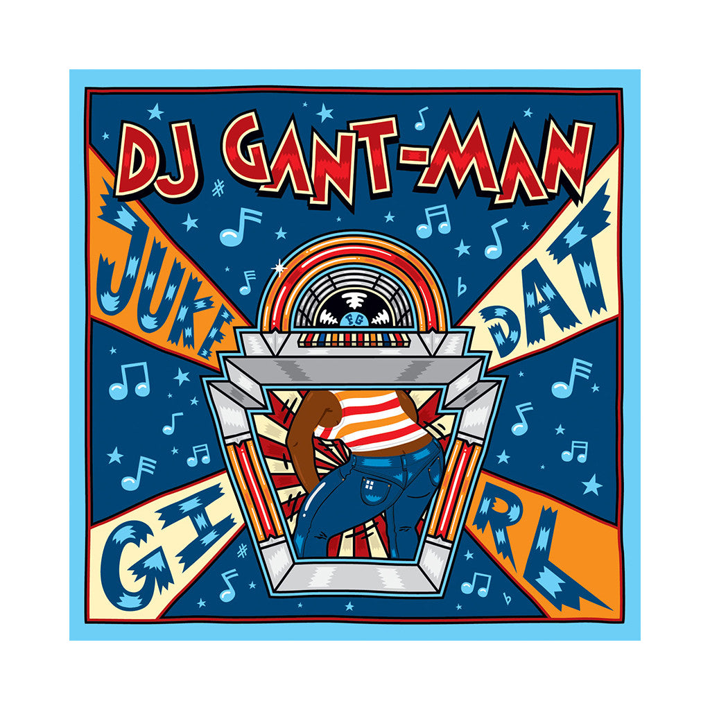 "<!--020091006018465-->DJ Gant Man - 'Juke Dat Girl/ Juke Dat Girl (Remixes)' [(Black) 12"" Vinyl Single]"