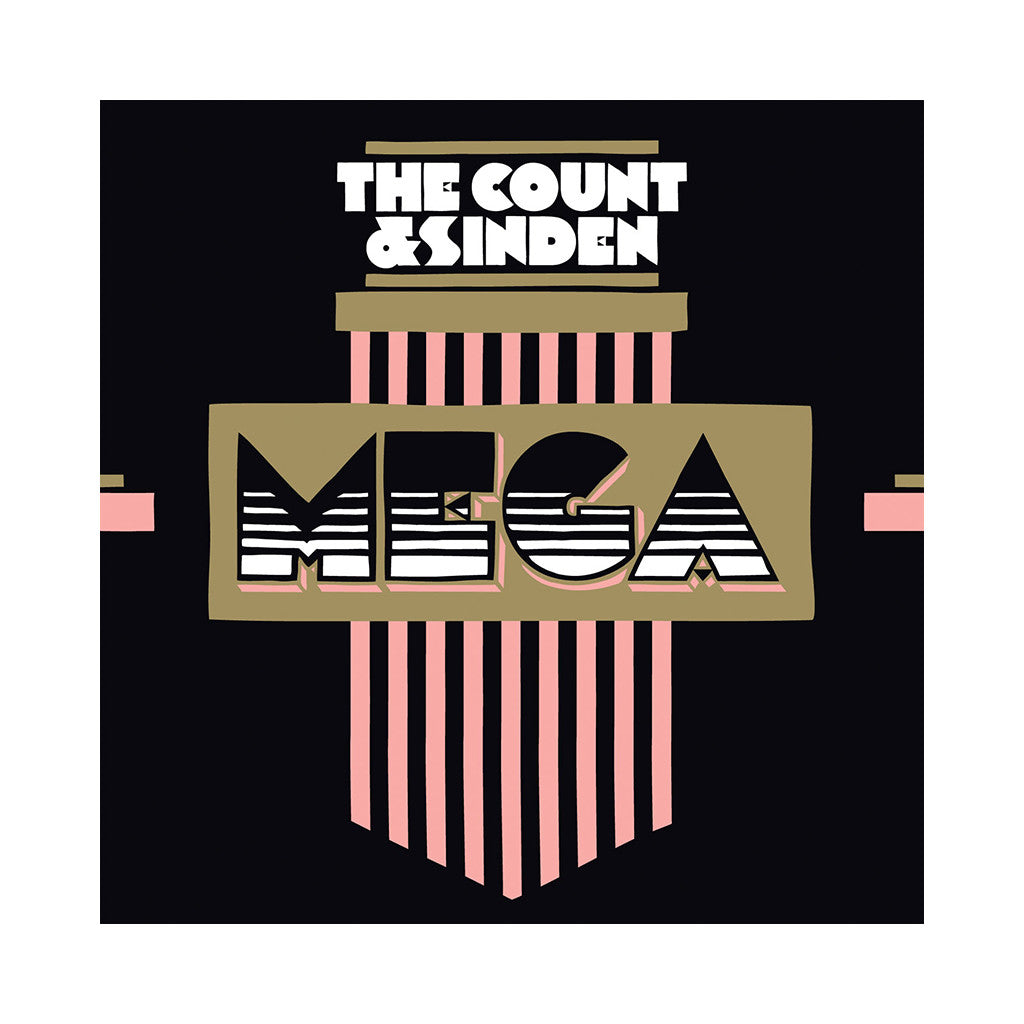 "The Count & Sinden - 'Mega/ Mega (Remixes)' [(Black) 12"" Vinyl Single]"