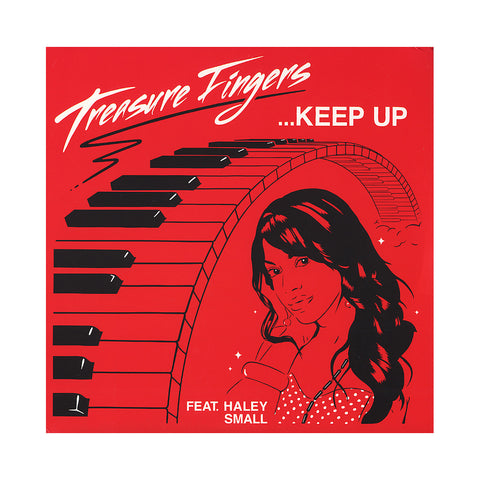 "Treasure Fingers - 'Keep Up/ Keep Up (Remixes)' [(Black) 12"" Vinyl Single]"