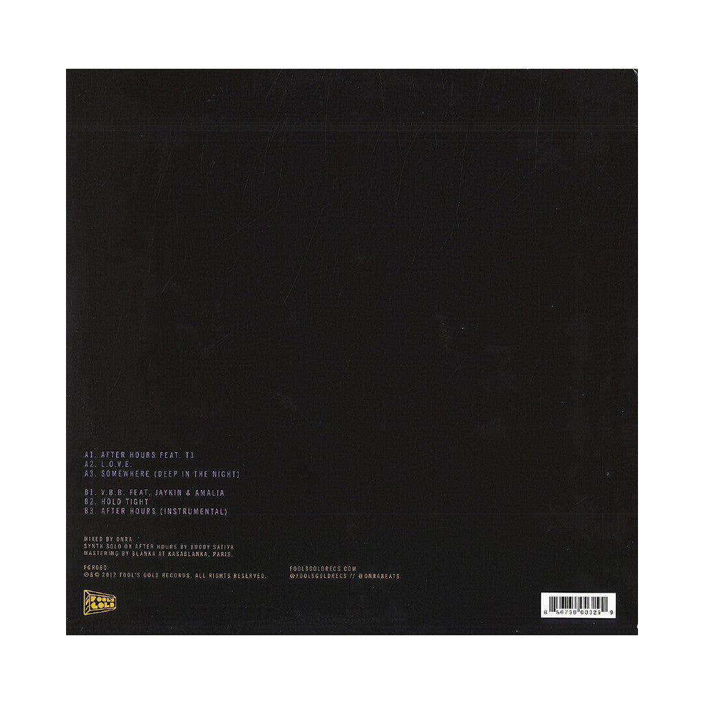 <!--120120814045607-->Onra - 'Deep In The Night' [(Black) Vinyl EP]