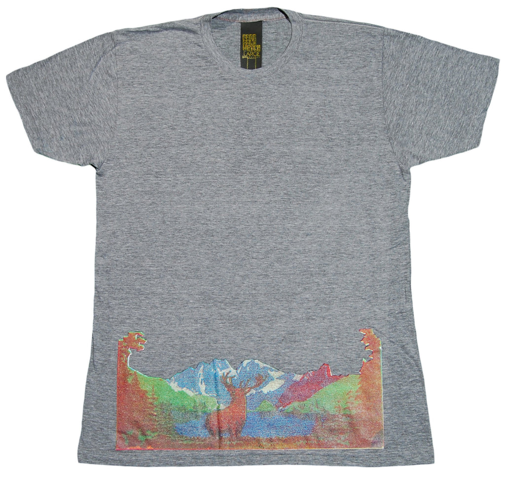 <!--2012081452-->Free Gold Watch - 'Buck' [(Gray) T-Shirt]