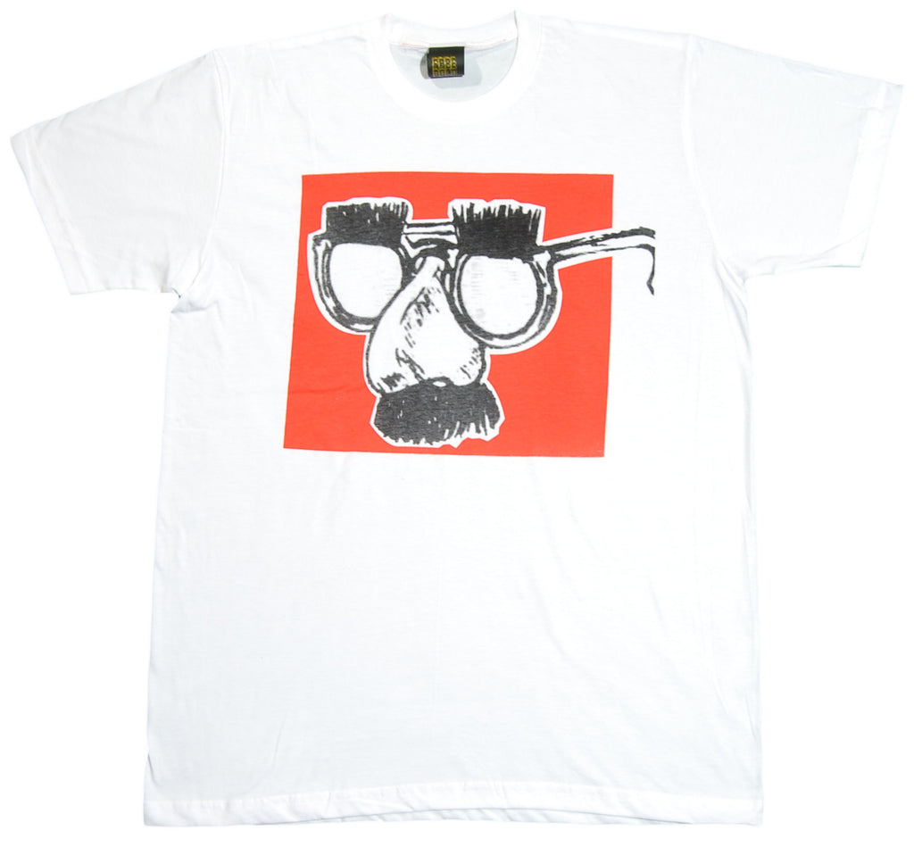 <!--2012081424-->Free Gold Watch - 'Disguise' [(White) T-Shirt]