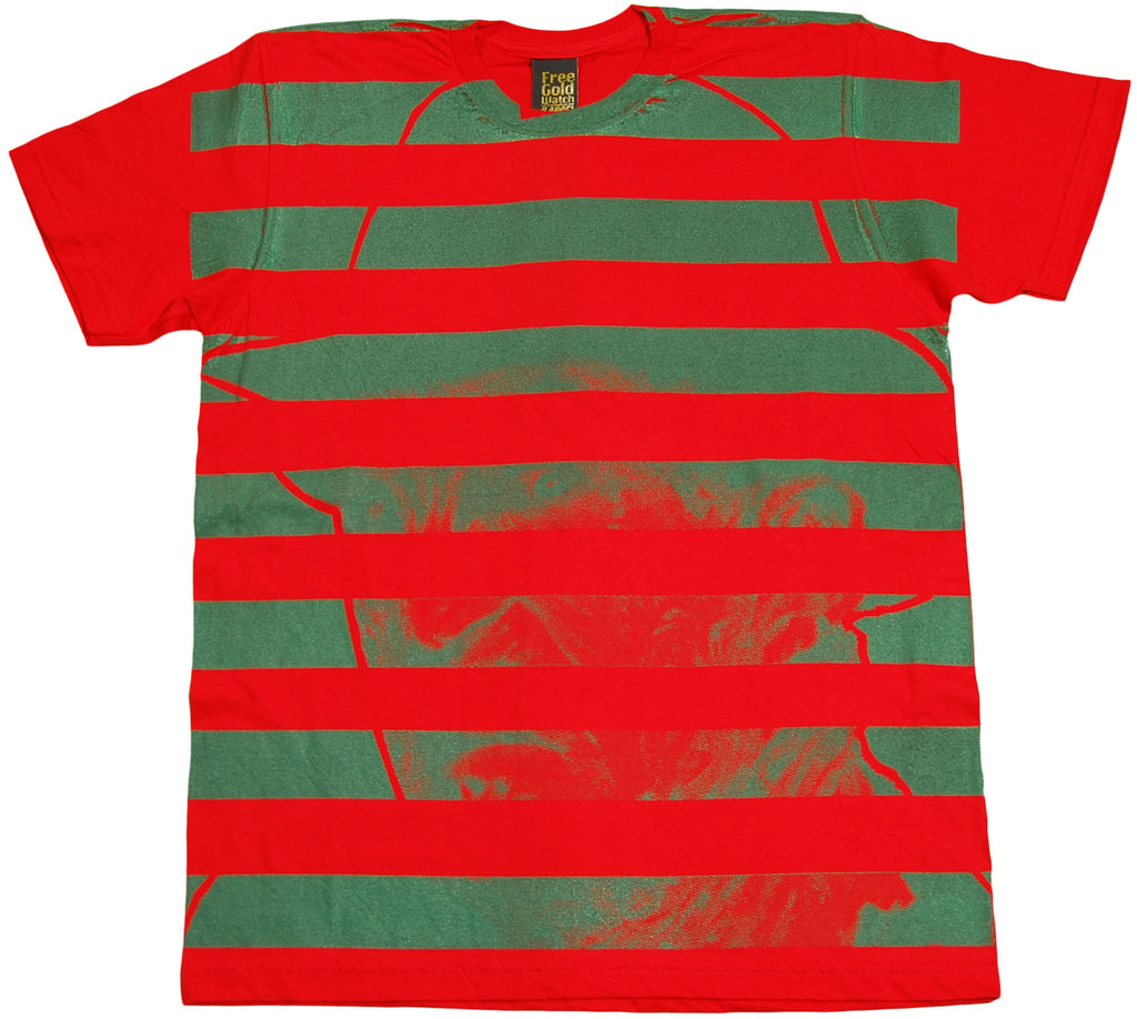 <!--2011061459-->Free Gold Watch - 'Freddy' [(Red) T-Shirt]