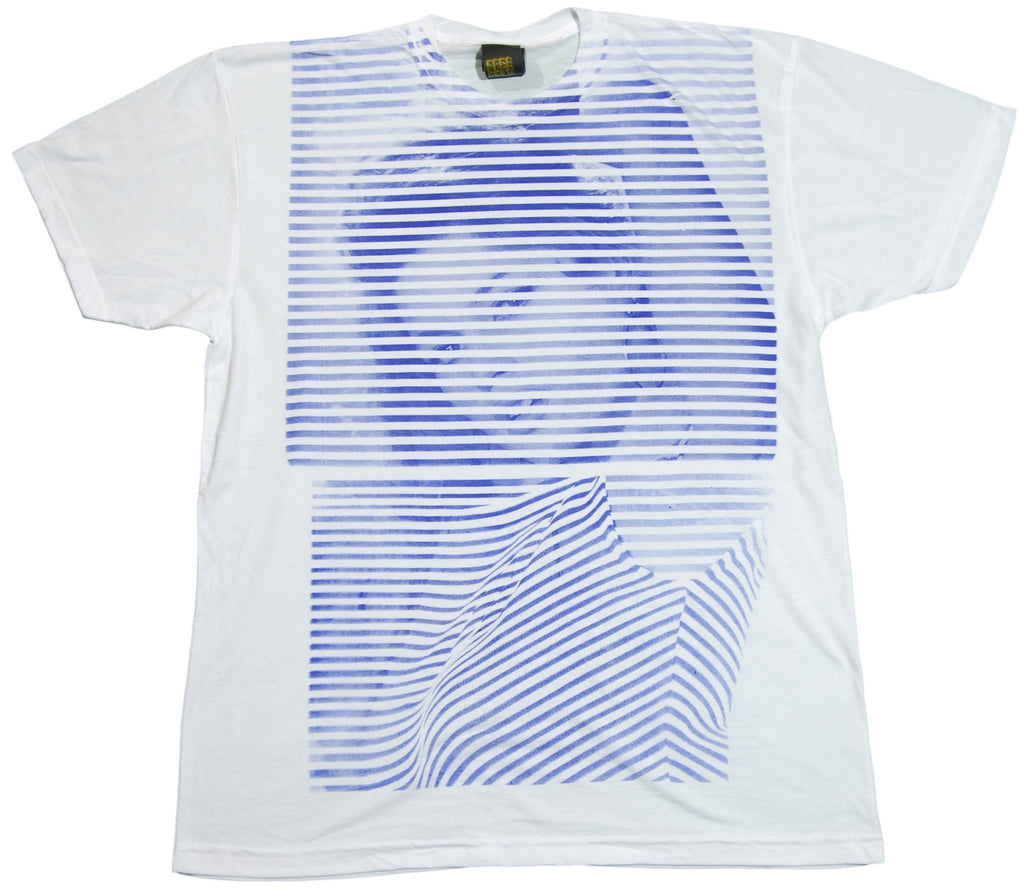 <!--2011112257-->Free Gold Watch - 'Breton Bardot' [(White) T-Shirt]
