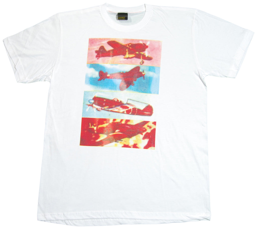 <!--2012081458-->Free Gold Watch - 'Planes' [(White) T-Shirt]