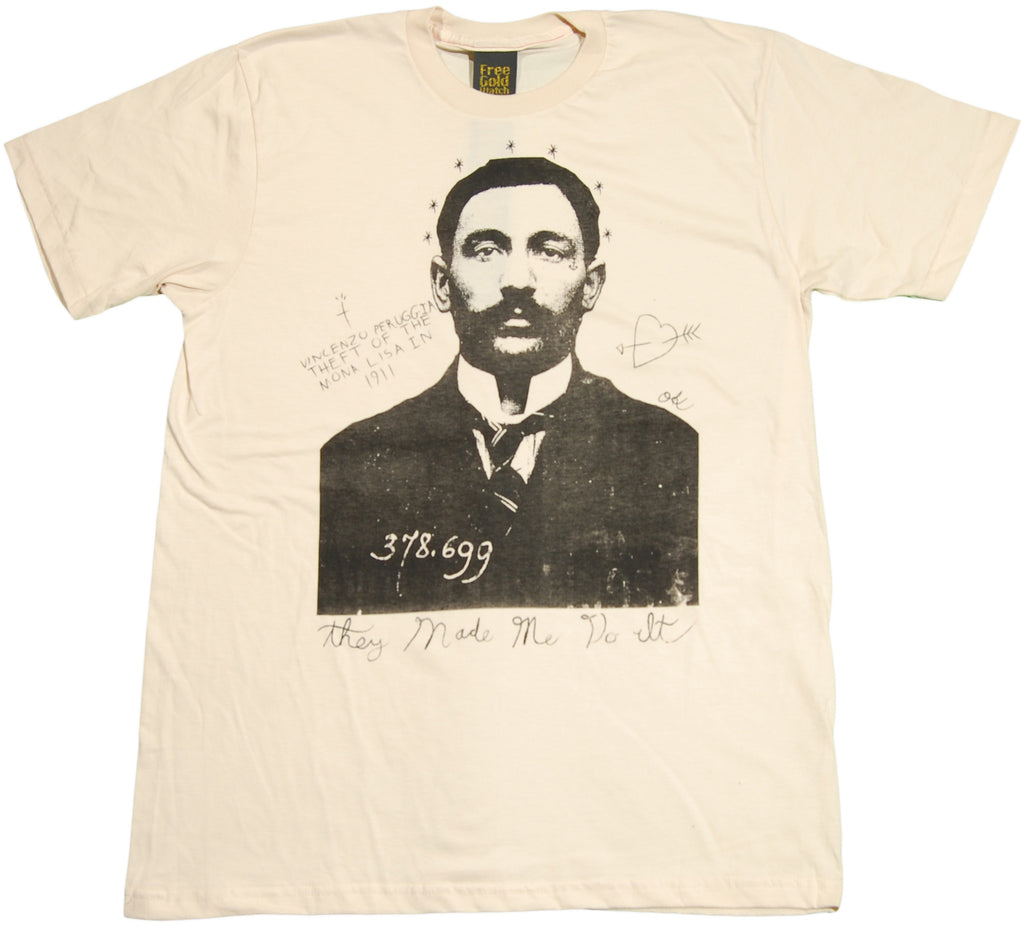 <!--2011061444-->Free Gold Watch - 'Vincenzo' [(Natural) T-Shirt]