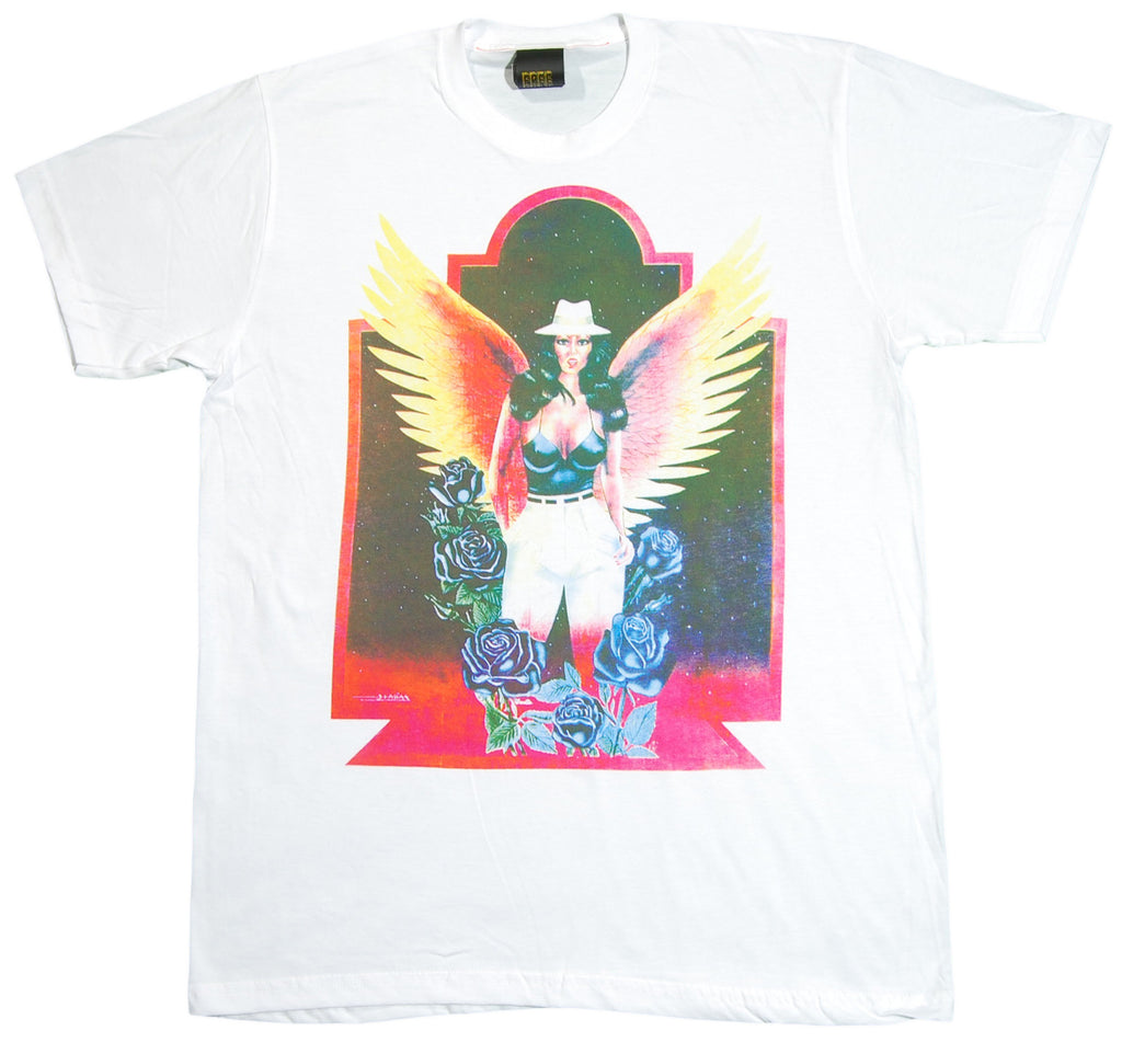 <!--2012081435-->Free Gold Watch - 'Wings' [(White) T-Shirt]