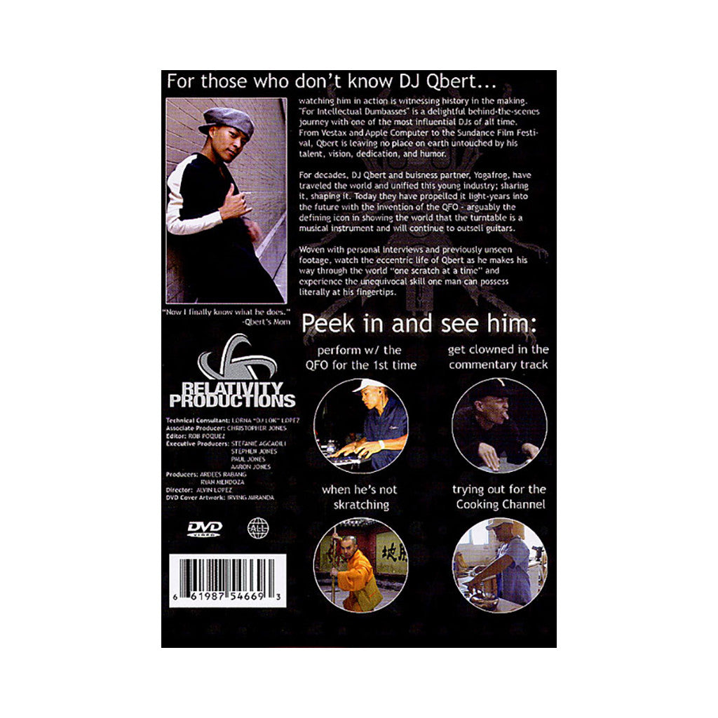 DJ Q-Bert - 'For Intellectual Dumasses' [DVD]