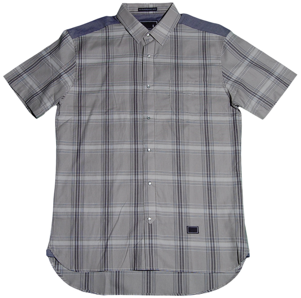<!--2011032936-->Freshjive - 'Larch' [(Light Gray) Button Down Shirt]