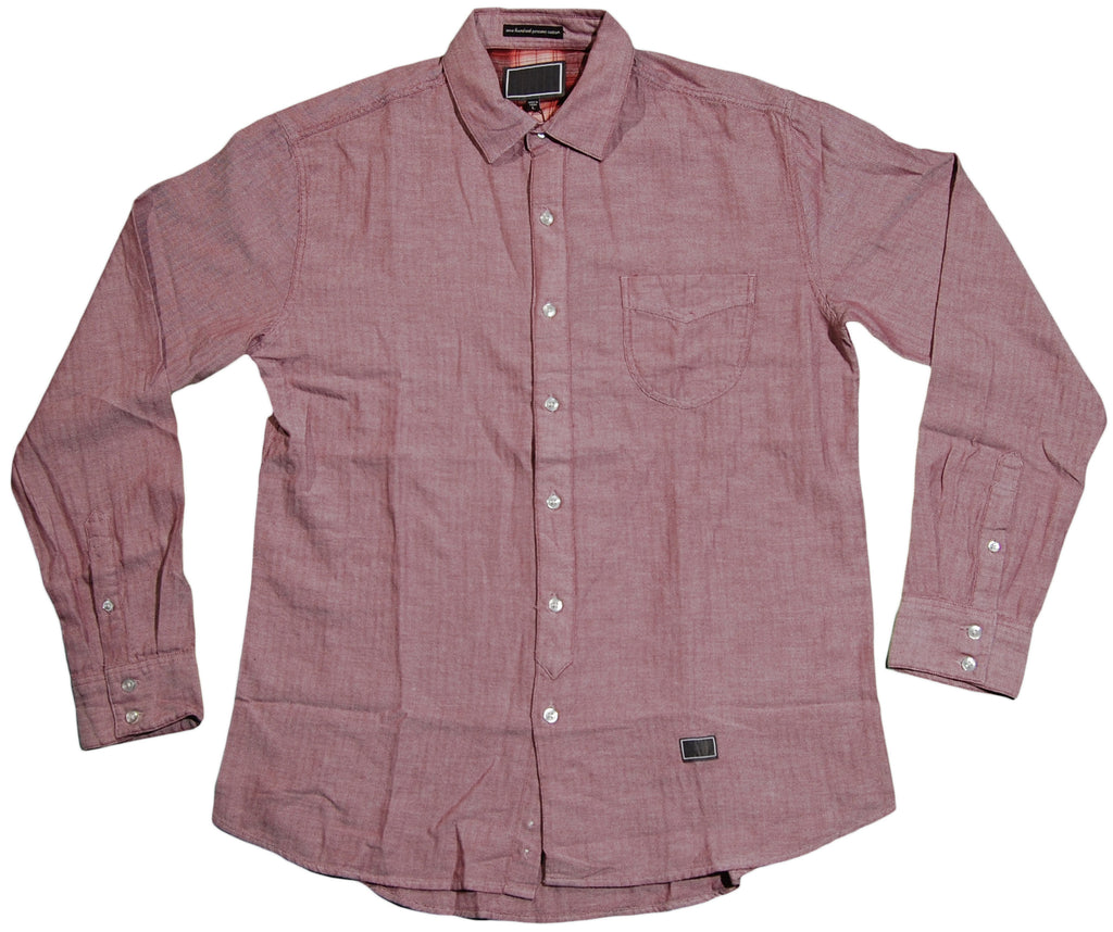 <!--2011083054-->Freshjive - 'Lo Thaw' [(Light Red) Button Down Shirt]