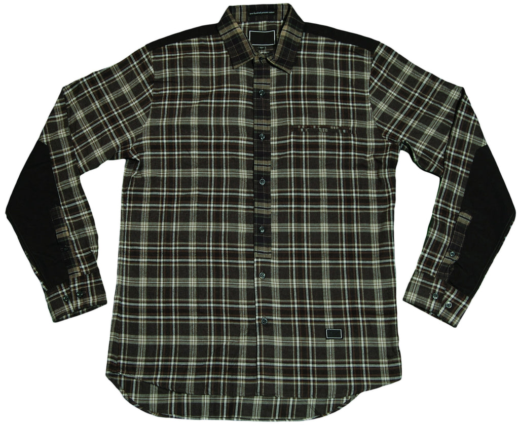 <!--2011091340-->Freshjive - 'STD Duos' [(Dark Green) Button Down Shirt]